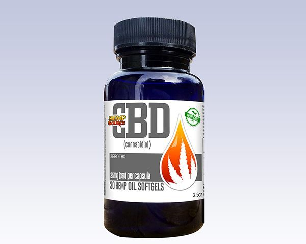 25mg CBD Soft Gels (30ct)