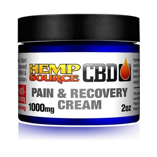 Pain & Recovery Cream 1000mg