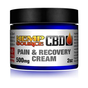 Pain & Recovery Cream 500mg