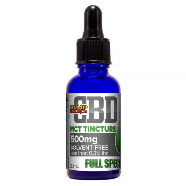 500mg MCT Tincture